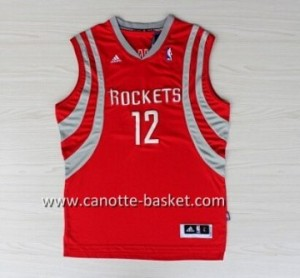 Maglie nba Houston Rockets Dwight Howard #12 rosso