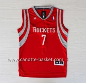 Maglie nba Houston Rockets Jeremy Lin #7 Retro rosso