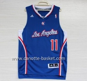 Maglie nba Los Angeles Clippers Jamal Crawford #11 blu