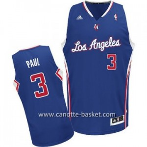 Maglie nba Los Angeles Clippers Chris Paul #3 blu