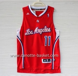 Maglie nba Los Angeles Clippers Jamal Crawford #11 rosso
