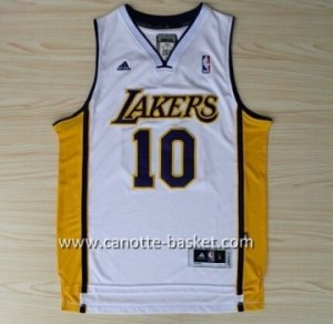 Maglie nba Los Angeles Lakers Steve Nash #10 bianco