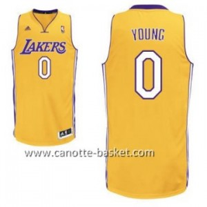 Maglie nba Los Angeles Lakers Nick Young #0 giallo