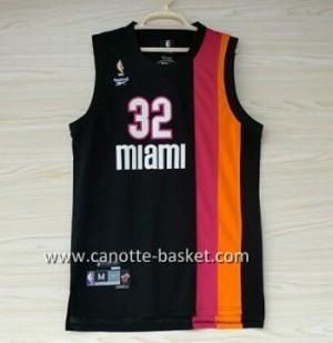 nuovo Maglie nba Miami Heat Shaquille O'Neal #32 nero