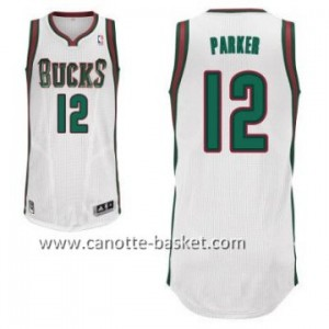 Maglie nba Milwaukee Bucks Jabari Parker #12 bianco