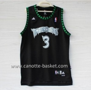 Maglie nba Minnesota Timberwolves Brandon Roy #3 nero