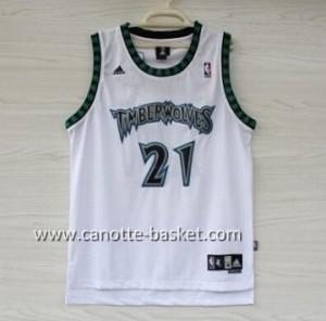 Maglie nba Minnesota Timberwolves Kevin Garnett #21 bianco