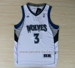 Maglie nba Minnesota Timberwolves Brandon Roy #3 bianco