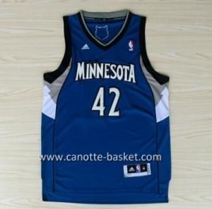 Maglie nba Minnesota Timberwolves Kevin Love #42 blu