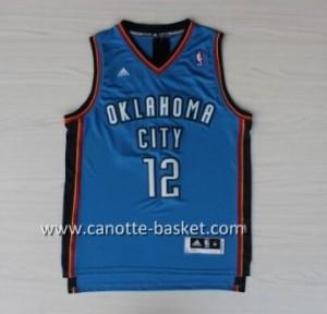 Maglie nba Oklahoma City Thunde Steven Adams #12 blu