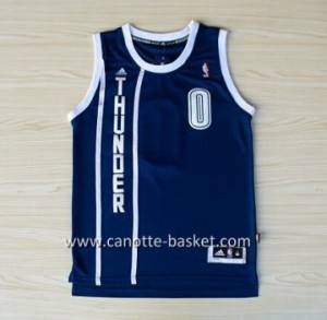 Maglie nba Oklahoma City Thunde Russell Westbrook #0 blu