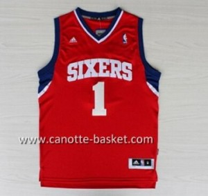 Maglie nba Philadelphia 76ers Carter-Williams #1 rosso