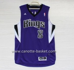 Maglie nba Sacramento Kings Rudy Gay #8 porpora