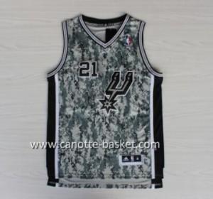 Maglie nba San Antonio Spurs Tim Duncan #21 camuffamento