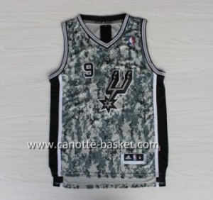 Maglie nba San Antonio Spurs Tony Parker #9 camuffamento