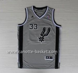 Maglie nba San Antonio Spurs Boris Diaw #33 grigio