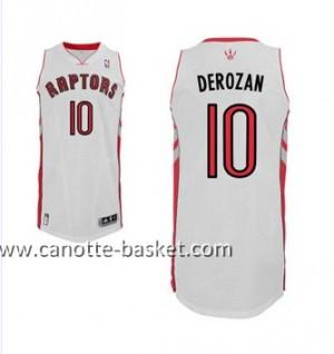 Maglie nba Toronto Raptors DeMar DeRozan #10 bianco