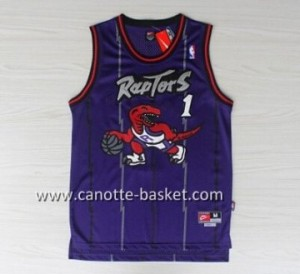 Maglie nba Toronto Raptors Tracy McGrady #1 porpora