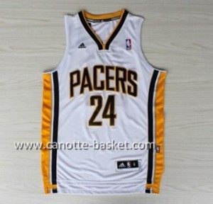 Maglie nba Indiana Pacers Paul George #24 bianco