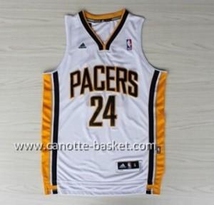 Maglie nba Indiana Pacers Paul George #24 bianco