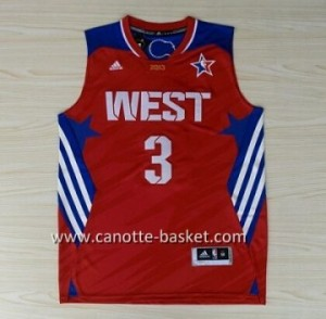 Maglie 2013 All-Star Chris Paul #3 rosso