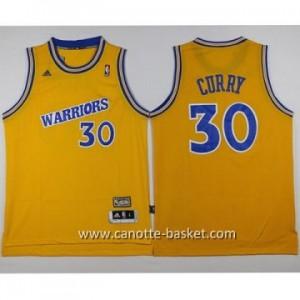 Maglie nba NCAA Golden State Warriors Stephen Curry #30 giallo