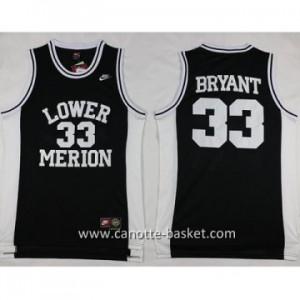 cantte nba NCAA LOWER MERION Kobi Bryant #33 nero