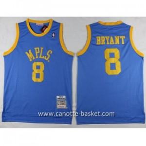 cantte nba NCAA MPLS Kobi Bryant #8 blu