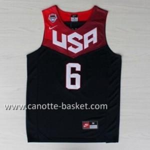 Maglie basket 2014 USA Derrick Rose #6 nero
