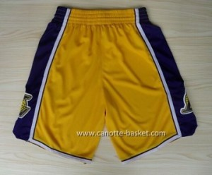 pantaloncini Maglie nba Los Angeles Lakers giallo