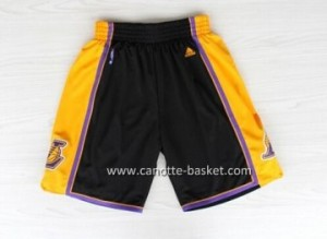 pantaloncini Maglie nba Los Angeles Lakers nero