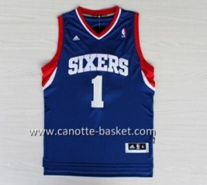 Maglie nba Philadelphia 76ers Carter-Williams #1 blu