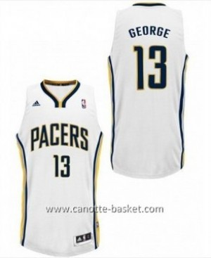 Maglie nba Indiana Pacers Paul George #13 bianco