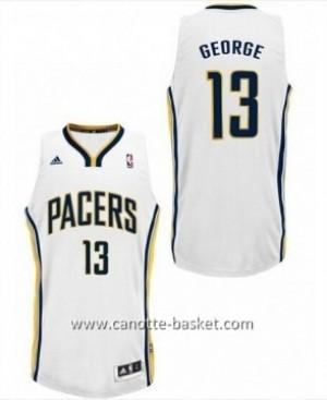 Maglie nba Indiana Pacers Paul George #13 bianco