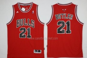 nuovo Maglie nba Chicago Bulls Jimmy Butler #21 rosso