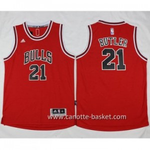 Maglie nba Chicago Bulls Jimmy Butler #21 rosso