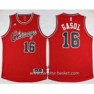 Maglie nba Chicago Bulls Pau Gasol #16 rosso