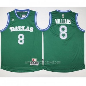 nuovo Maglie nba Dallas Mavericks Deron Williams #8 verde