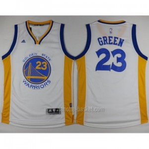 nuovo Maglie nba Golden State Warriors Draymond Green #23 bianco