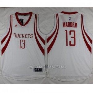 nuovo Maglie nba Houston Rockets James Harden #13 bianco
