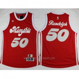 nuovo Maglie nba Memphis Grizzlies Zach Randolph #50 rosso