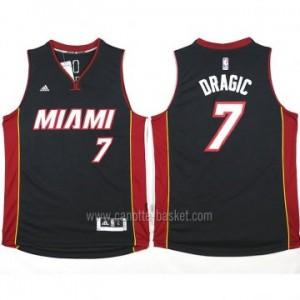 nuovo Maglie nba Miami Heat Goran Dragic #7 nero