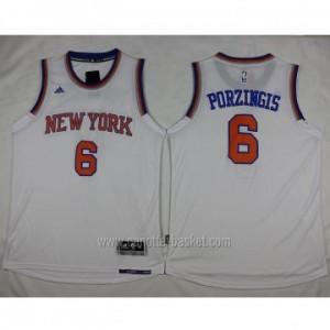 nuovo Maglie nba New York Knicks Tyson Chandler #6 bianco