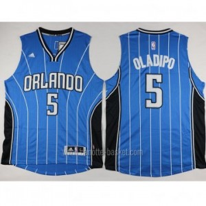 nuovo Maglie nba Orlando Magic Victor Oladipo #5 blu