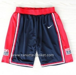 pantaloncini basket 1992 USA blu