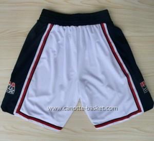 pantaloncini basket 1992 USA bianco