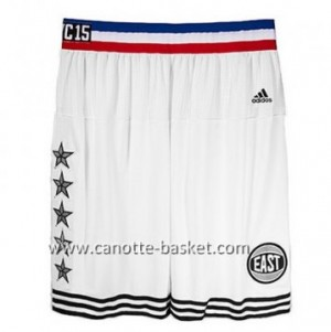 pantaloncini nba 2015 All-Star bianco