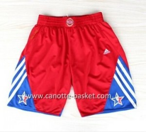 pantaloncini nba 2013 All-Star rosso