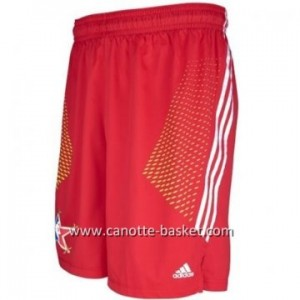 pantaloncini nba 2014 All-Star rosso