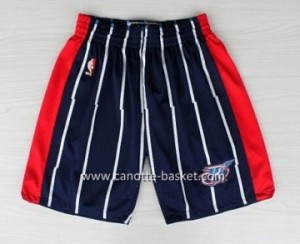 pantaloncini nba Houston Rockets Retro blu
